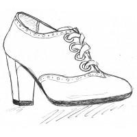 Женские ботильоны на полную ногу и широкую стопу.