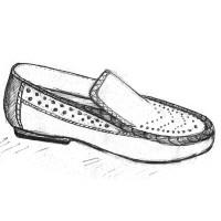 Женские мокасины на полную ногу и широкую стопу