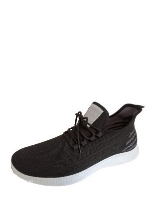 Кроссовки Crosby 417184/03-02 черно-серый/текстиль