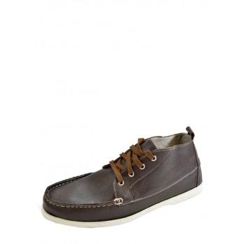 Ботинки Delfino 518371_коричневый_кожа