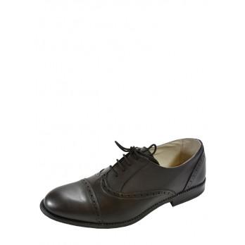 Туфли Delfino 597297_черный_кожа