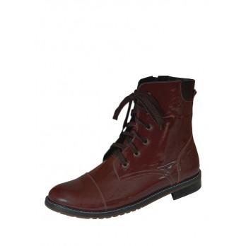 Ботинки Laura Potti 3841 бордо. лак