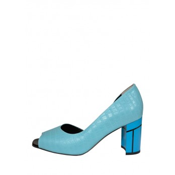 Туфли Laura Potti 3895 голубые