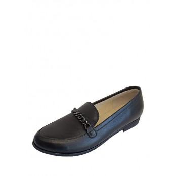 Туфли Laura Potti 4025 Черные кожа
